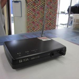卓上型送信機 TOA WM-1110